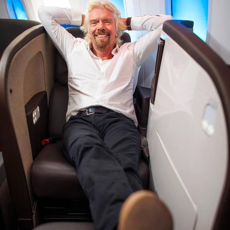 Richard Branson | Instagram Takeover