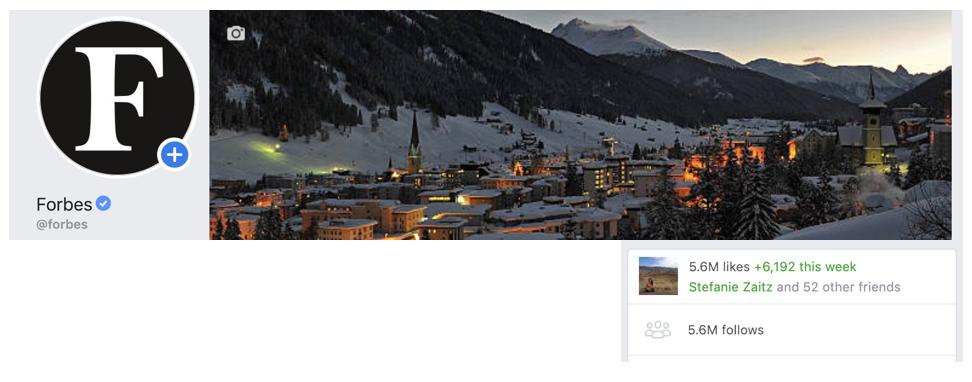 Forbes Facebook