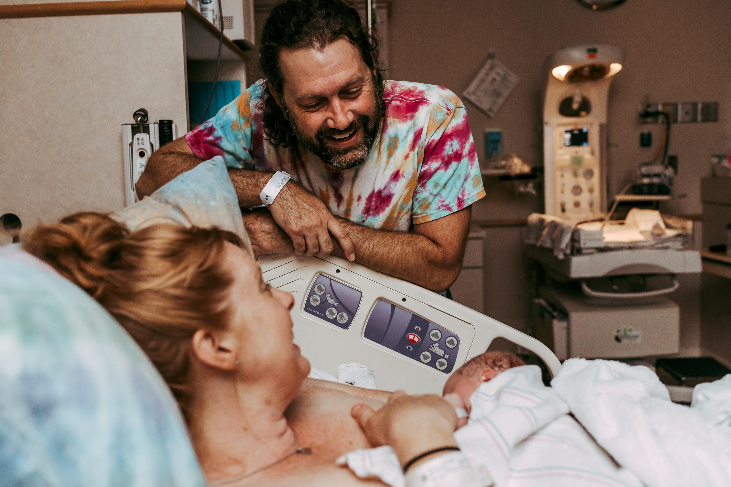hospital birth photos in Danville, Virginia