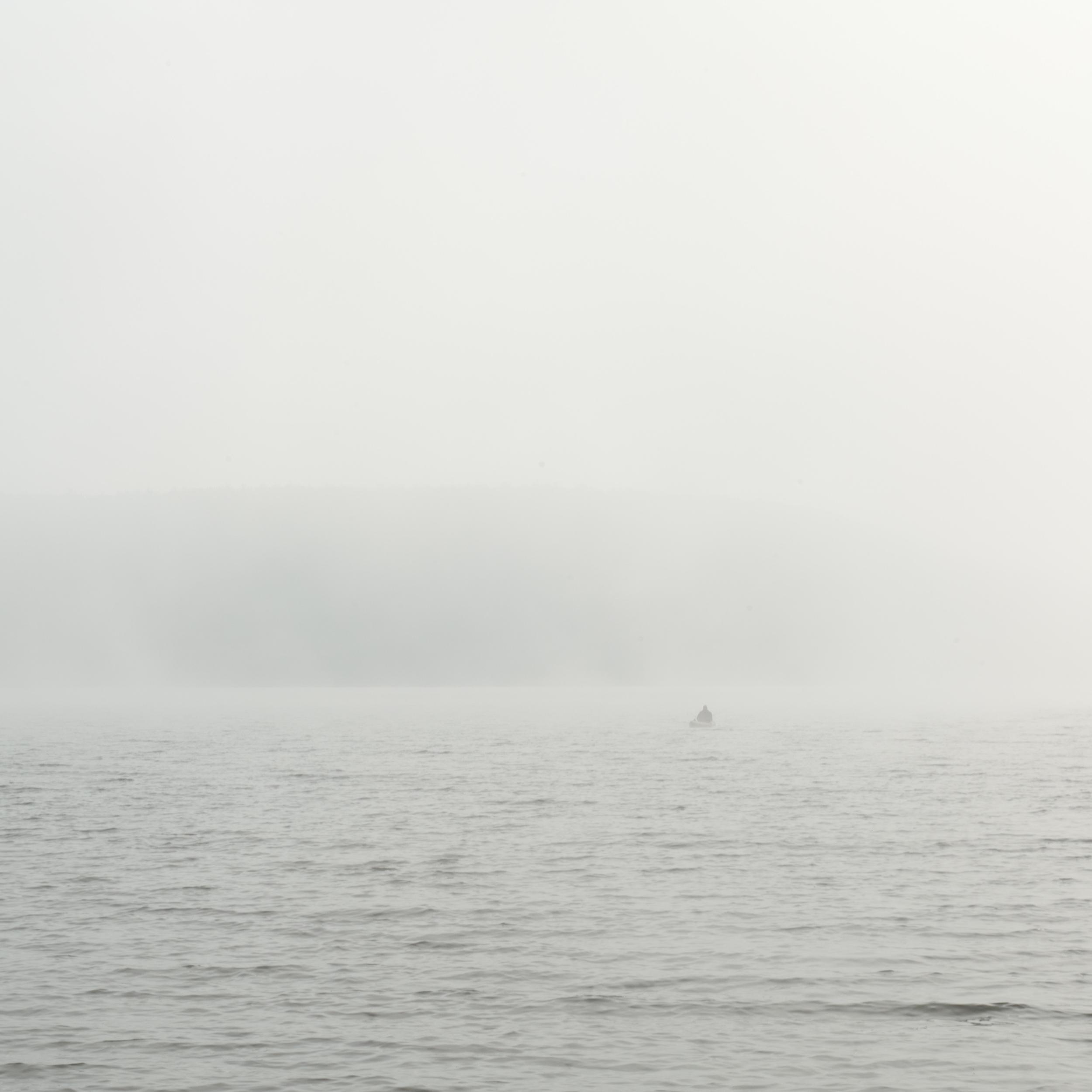 Lone Figure, Dublin Lake