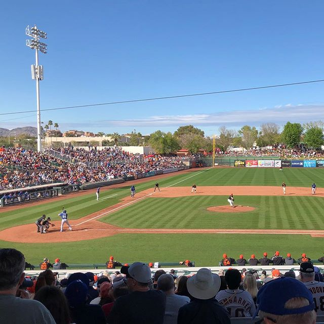 So long Scottsdale, it's been real ✌️⚾️💕🌵 #springtraining2019 #sfgiants