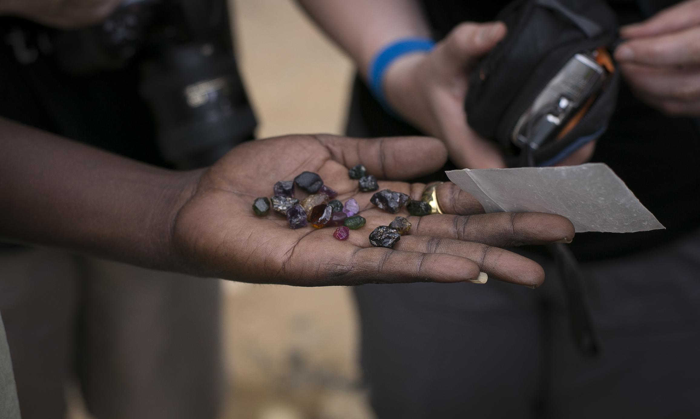 Gemstone dealer - Tanzania