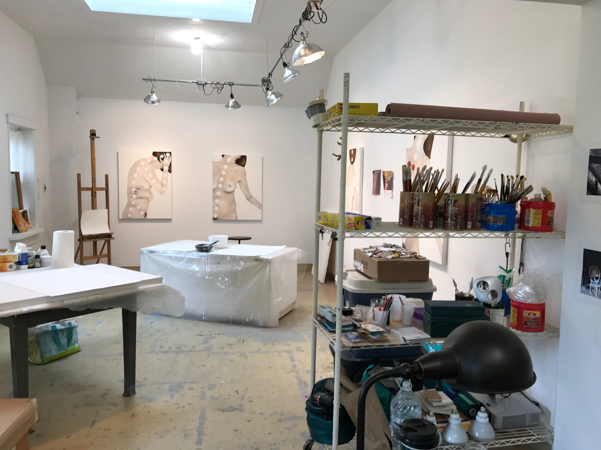 Colleen Garibaldi's studio