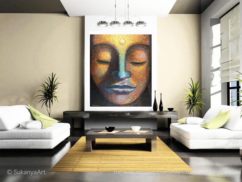 Blessed Buddha Painting