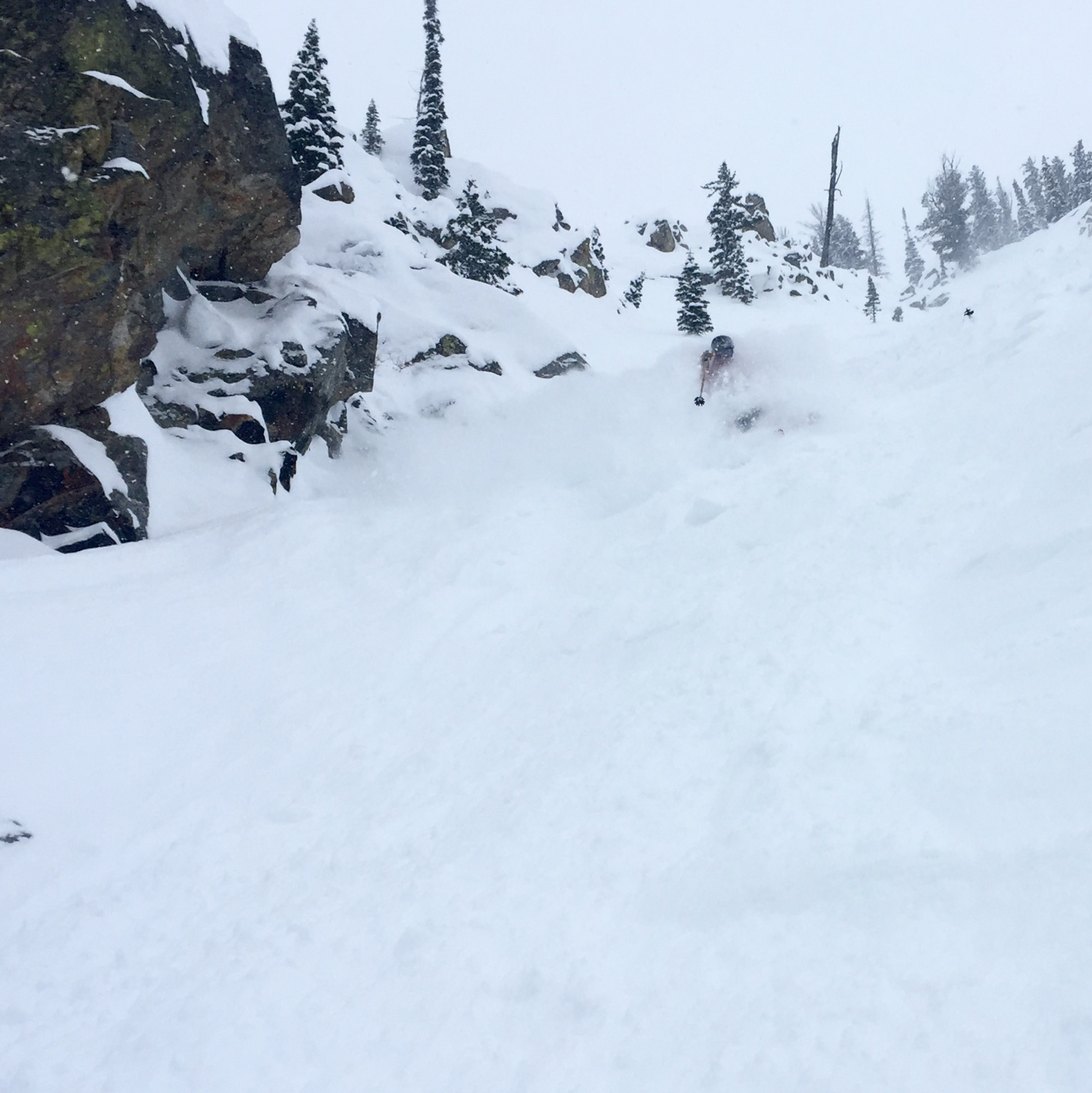 Pete's first turns in Granite were...good.