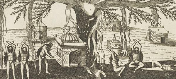 Des Faquirs ou pauvres volontaires des Indes,  Les Six Voyages de J. B. Tavernier , Paris, 1676