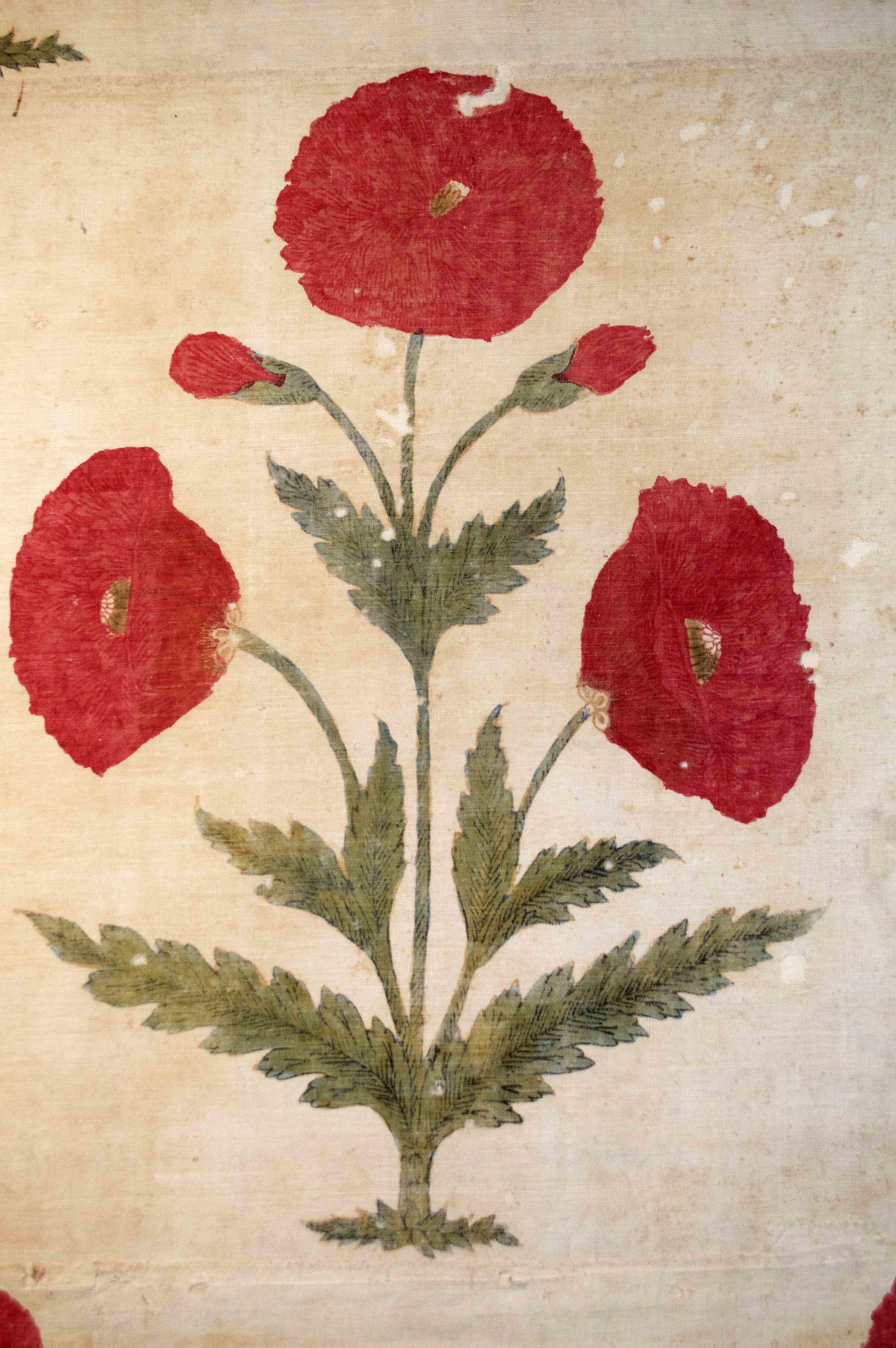 Summer carpet, North Indian or Deccan, c. 17th century. Repository:Museum für Asiatische Kunst,Staatliche Museen zu Berlin,Accession Number: 1363