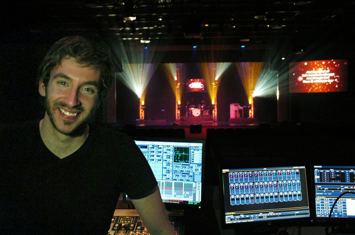 Eric '13 is a Production Technician at LBCB Church, one of the fastest growing churches in the country with 10,000+ people in attendance every weekend.