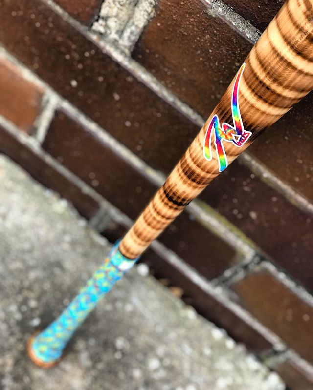 Such a popular colorway. Stripe flame tempered with tie dye logo and whacky camo lizard skin.