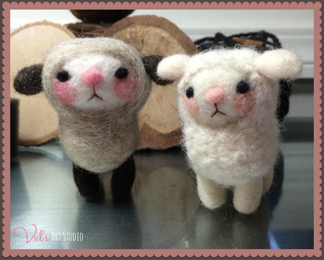 2 Cute Sheep, lg.jpg