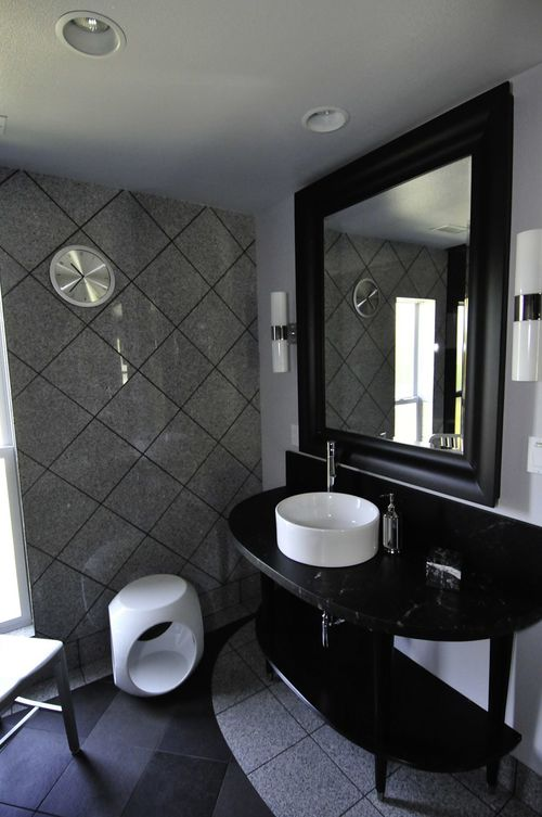 Photo: Bathroom remodel of a client in Long Beach, CA. For more photos of the entire home remodel, click  here .