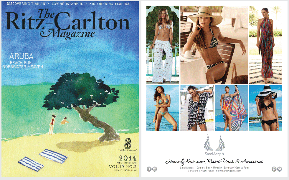 Ritz-Carlton Magazine - Full Page Advert 2014