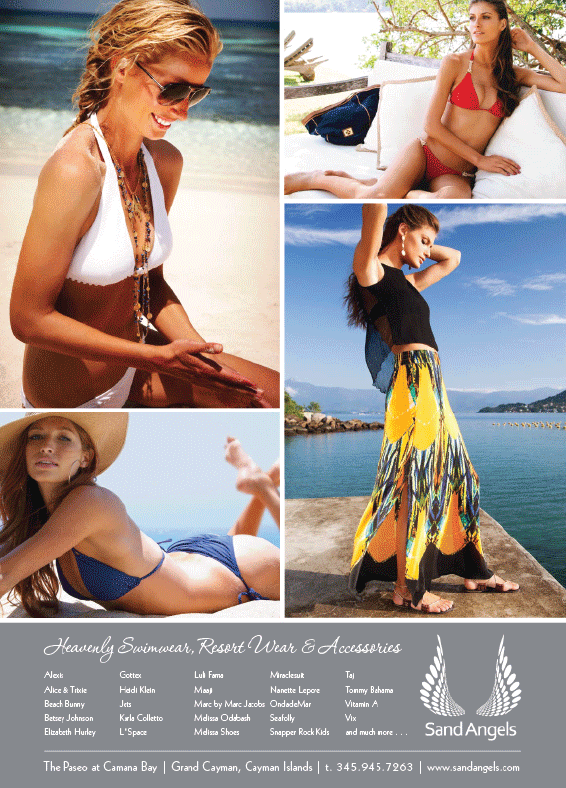 Grand Cayman Magazine - Full Page Advert 2011