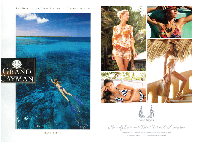 Grand Cayman Magazine - Full Page Advert 2013