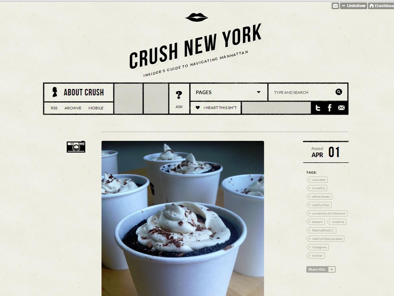 Crush New York     , April 2013