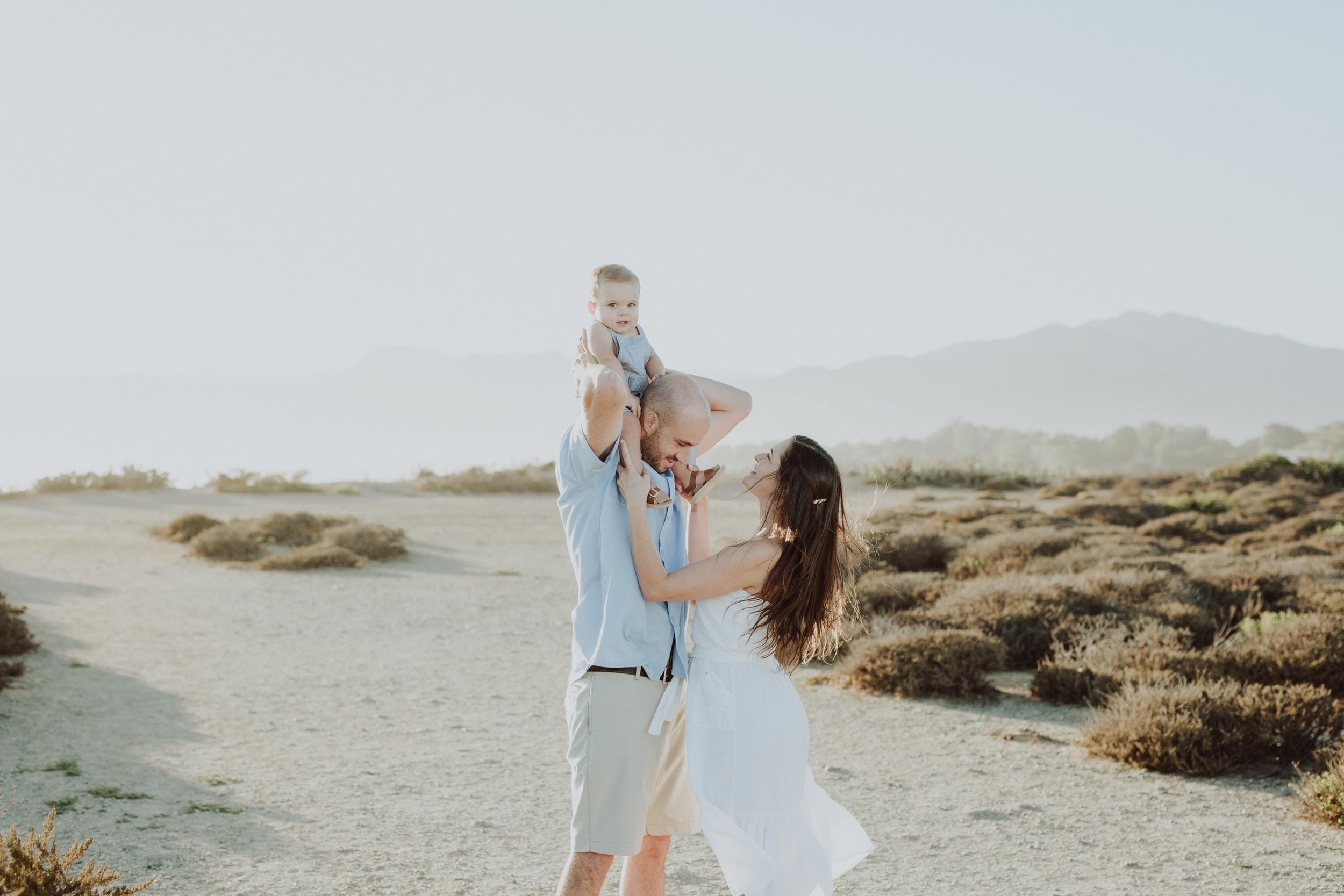 point dume family session