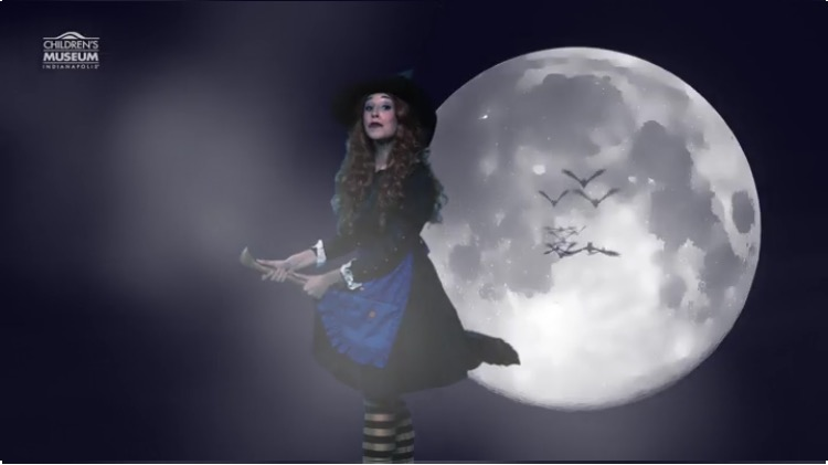 """I perform as """"Frances the Friendly Witch"""" at the museum. Check on my video on my media page."""