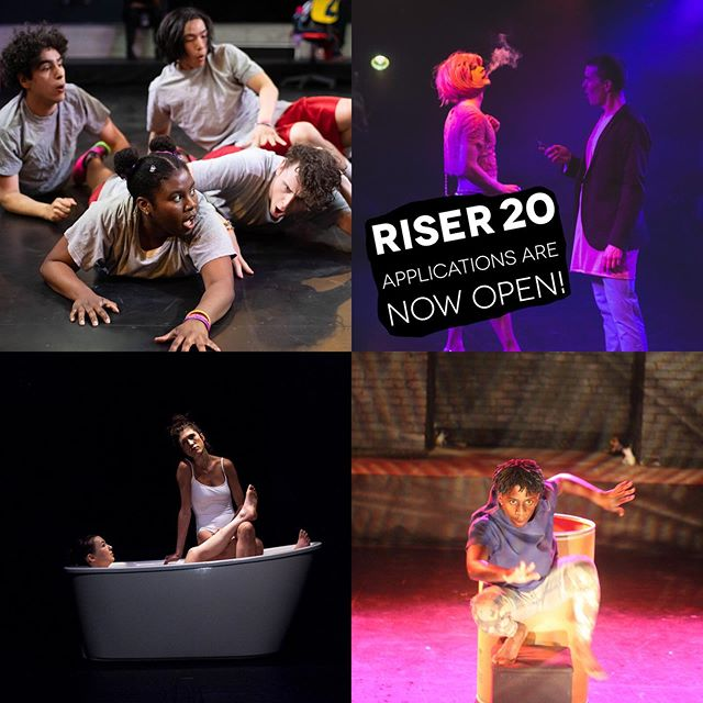 Working with RISER on 1991 has been an incredibly valuable experience. Applications for 2020 are now open. Apply, apply, apply!  WHAT:  1991 WHEN:  MAY 22- JUNE 9 WHERE:  @thetheatrecentre  Written and Directed by @coleilewis Presented by @whynottheatre As part of The Riser Project
