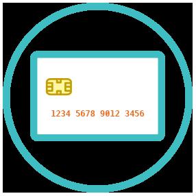 EMV                   (chip + PIN; chip + signature)