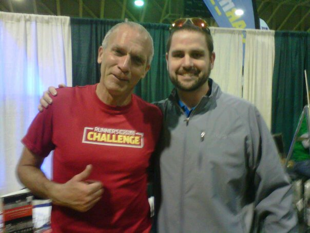 My first meeting with the great Bart Yasso in early spring 2011. I was coming off an injury and had given up on long distances. About 10 minutes after meeting Bart, I signed up for the Baltimore Marathon, which is in the photo below.