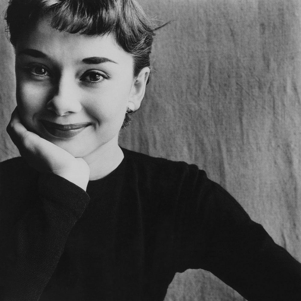 Audrey Hepburn photographed by Irving Penn.