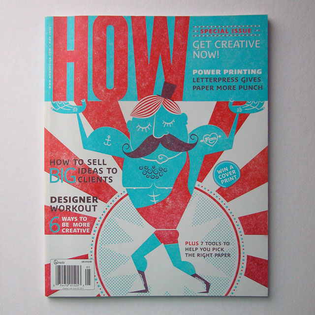 How Magazine Cover
