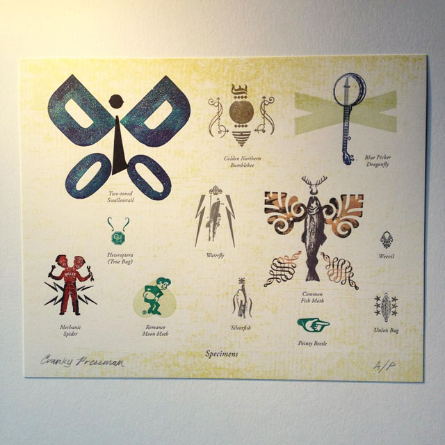 Letterpress Specimens Print