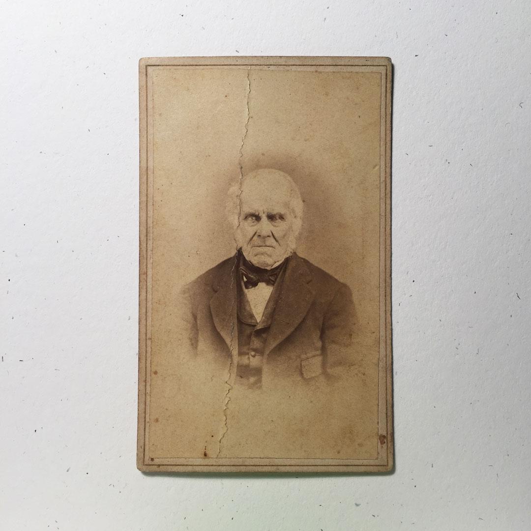Original 19th Century photograph.