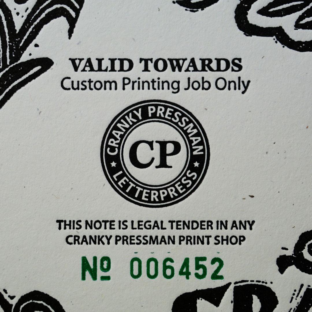 Cranky Bucks Artwork Detail