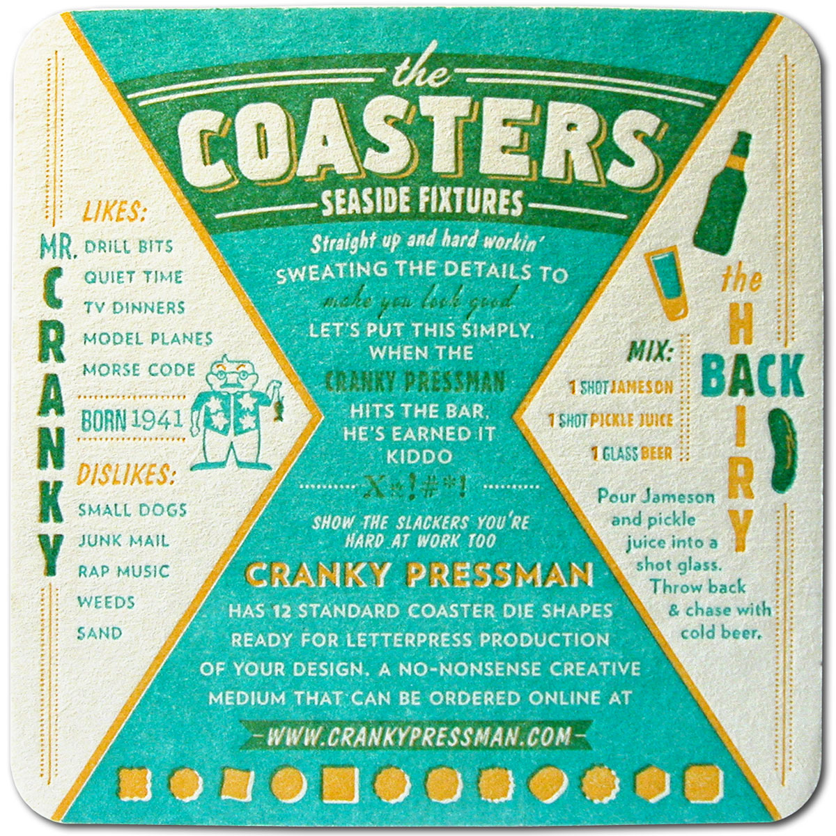 Cranky - Coaster Back
