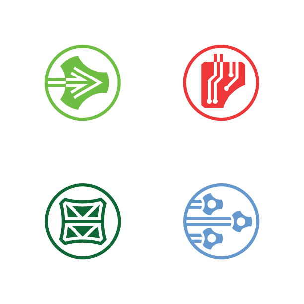 Miles Products Branded Icons