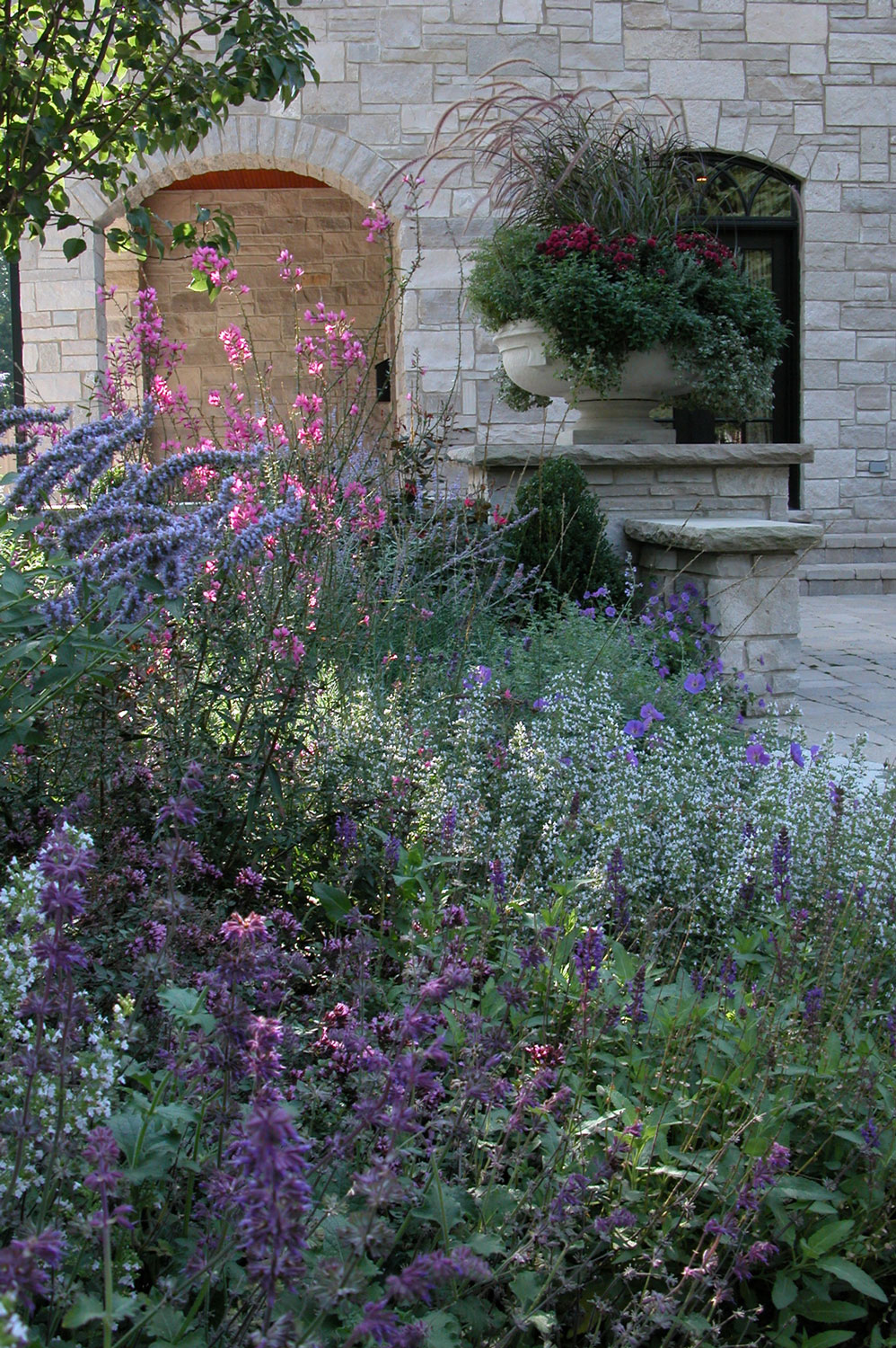 Perennial Beds & Stone Container