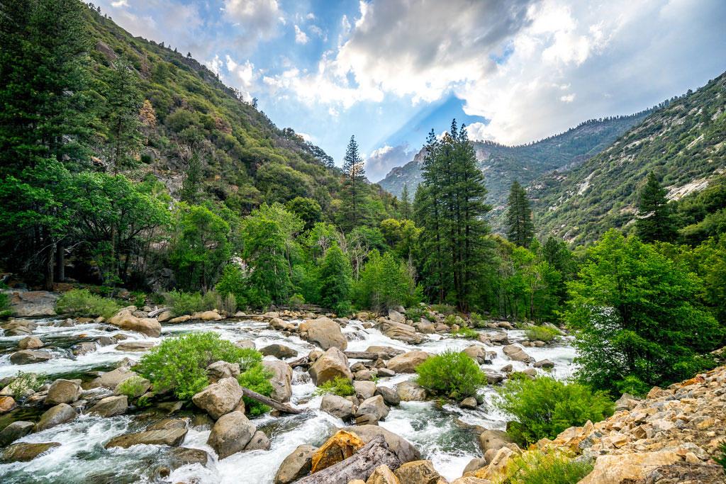The Beautiful Sierra Mountains