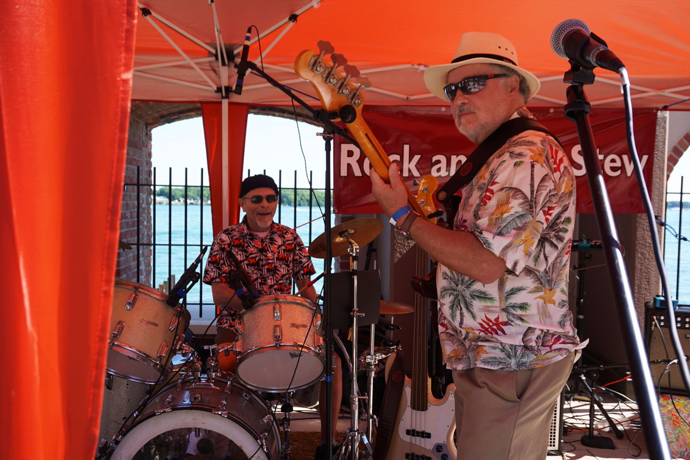 Rock & Roll Stew performing.