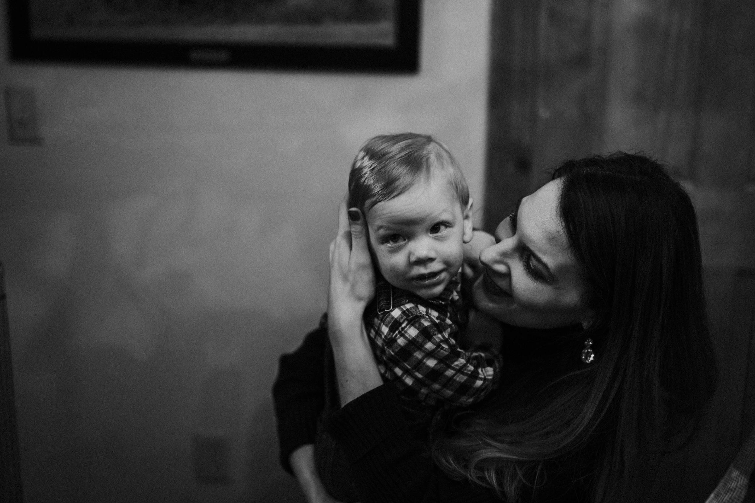 Christmas 2016 | Hannahill Photography | Branson, MO | Documentary Family Photography | a portrait of my nephew with his mother