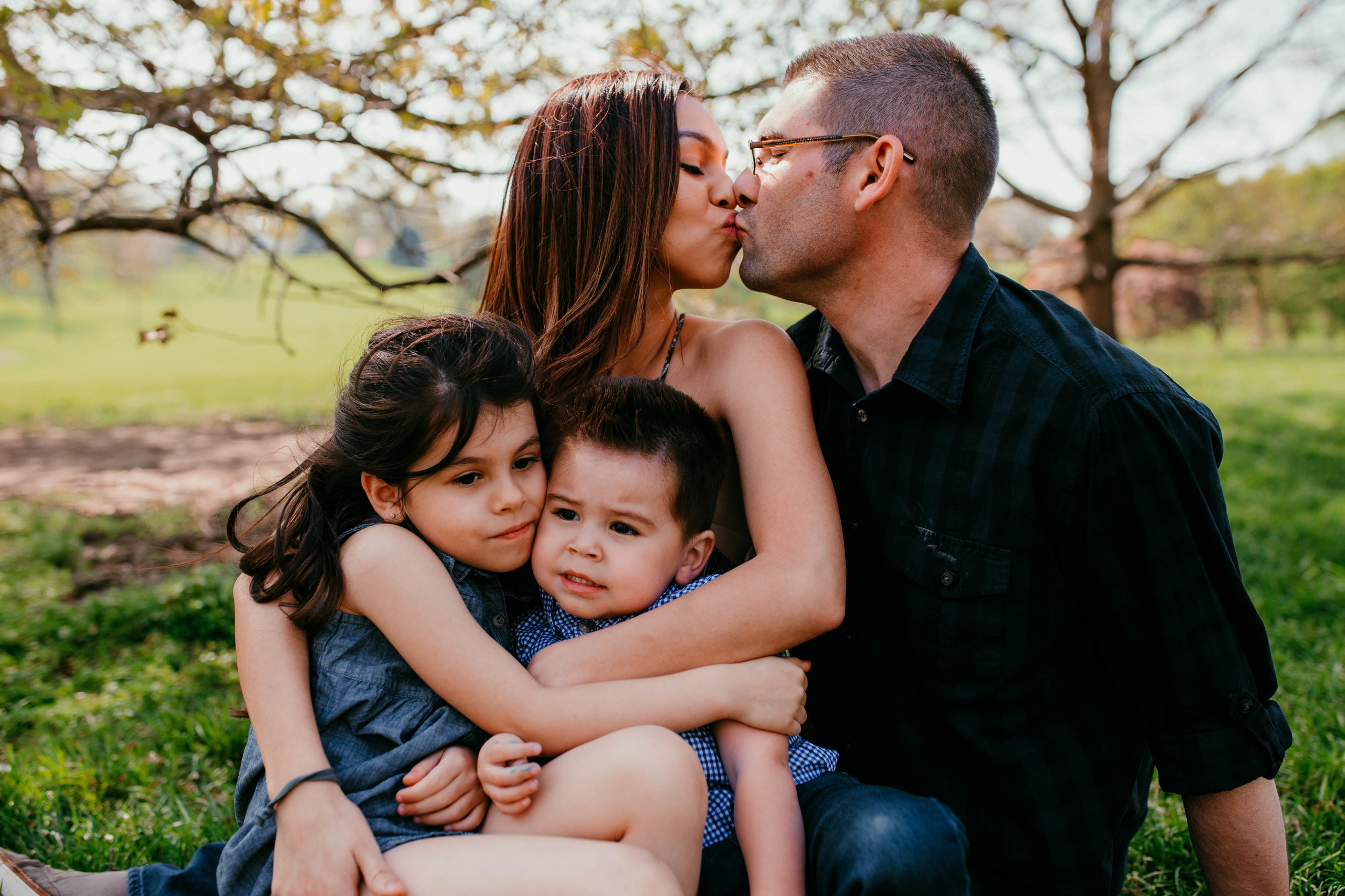 The London-Evans Family |Kansas City, MO | Hannahill Photography