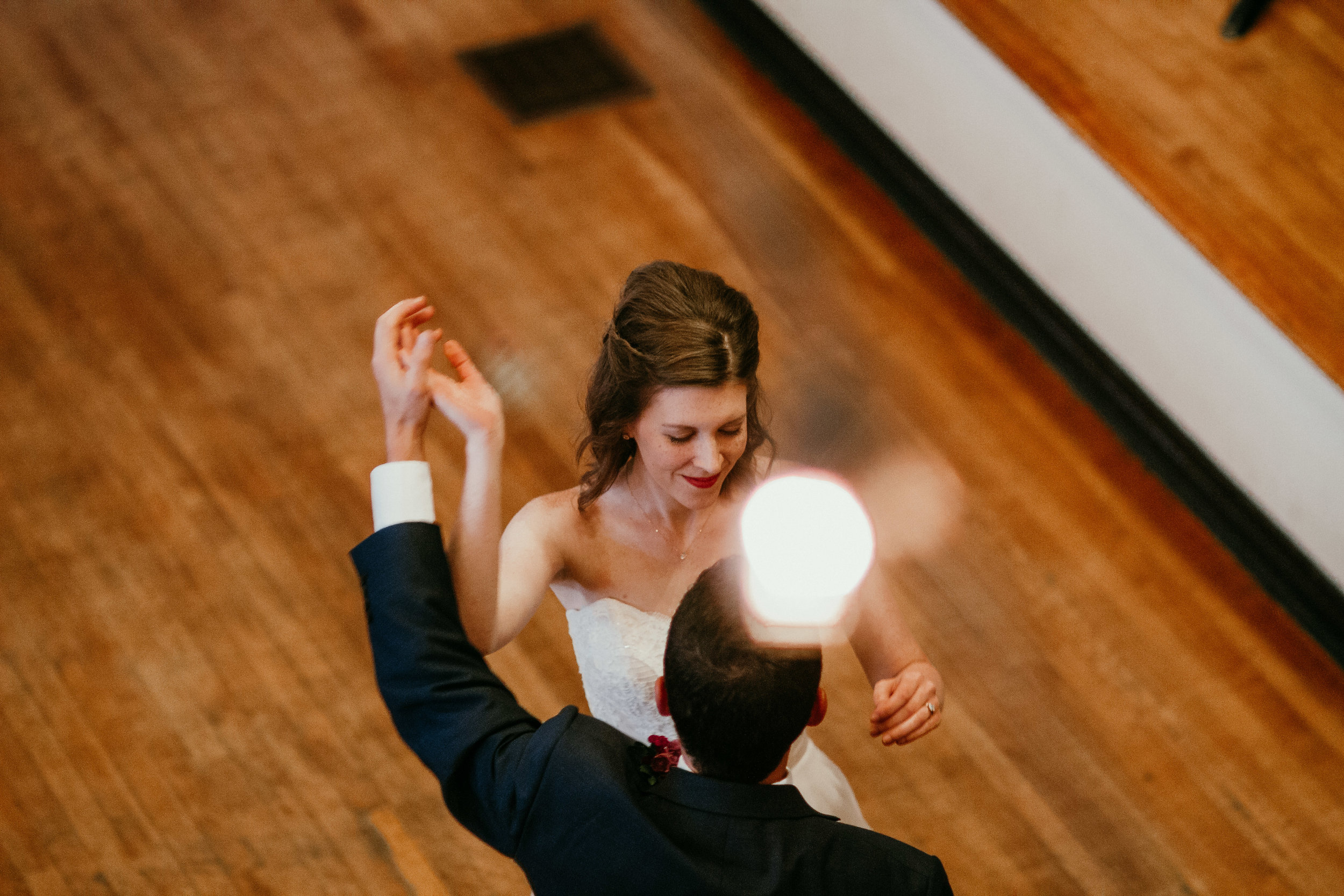 First Dance for bride and groom | Shelbie & Jospeh's Summer Love Story : Kansas City Wedding | Hanna Hill Photography