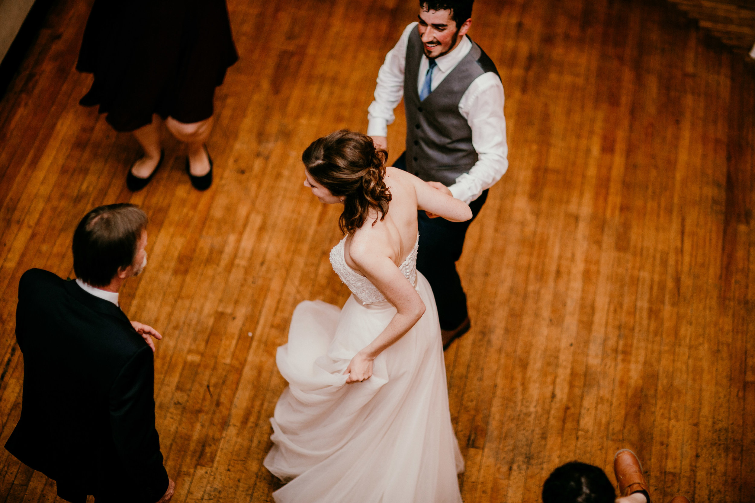 dancing at the reception of Shelbie & Jospeh's Summer Love Story : Kansas City Wedding   Hanna Hill Photography