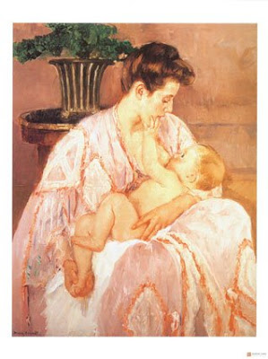 Painting by Mary Cassatt