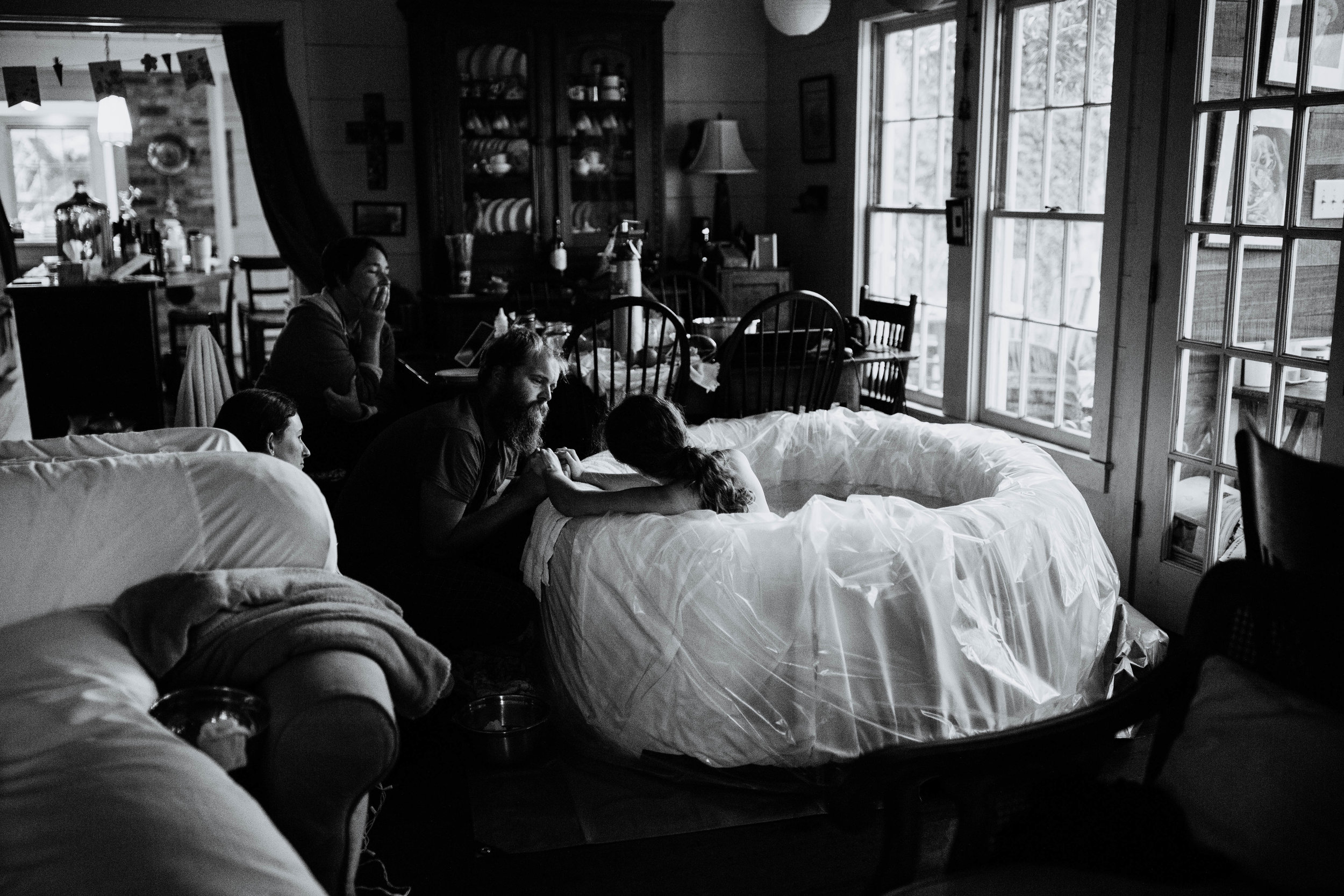 The Birth of Eve and Motherhood Journey of Chiara | Farm house homebirth | Raleigh Durham Birth Photography and Videography