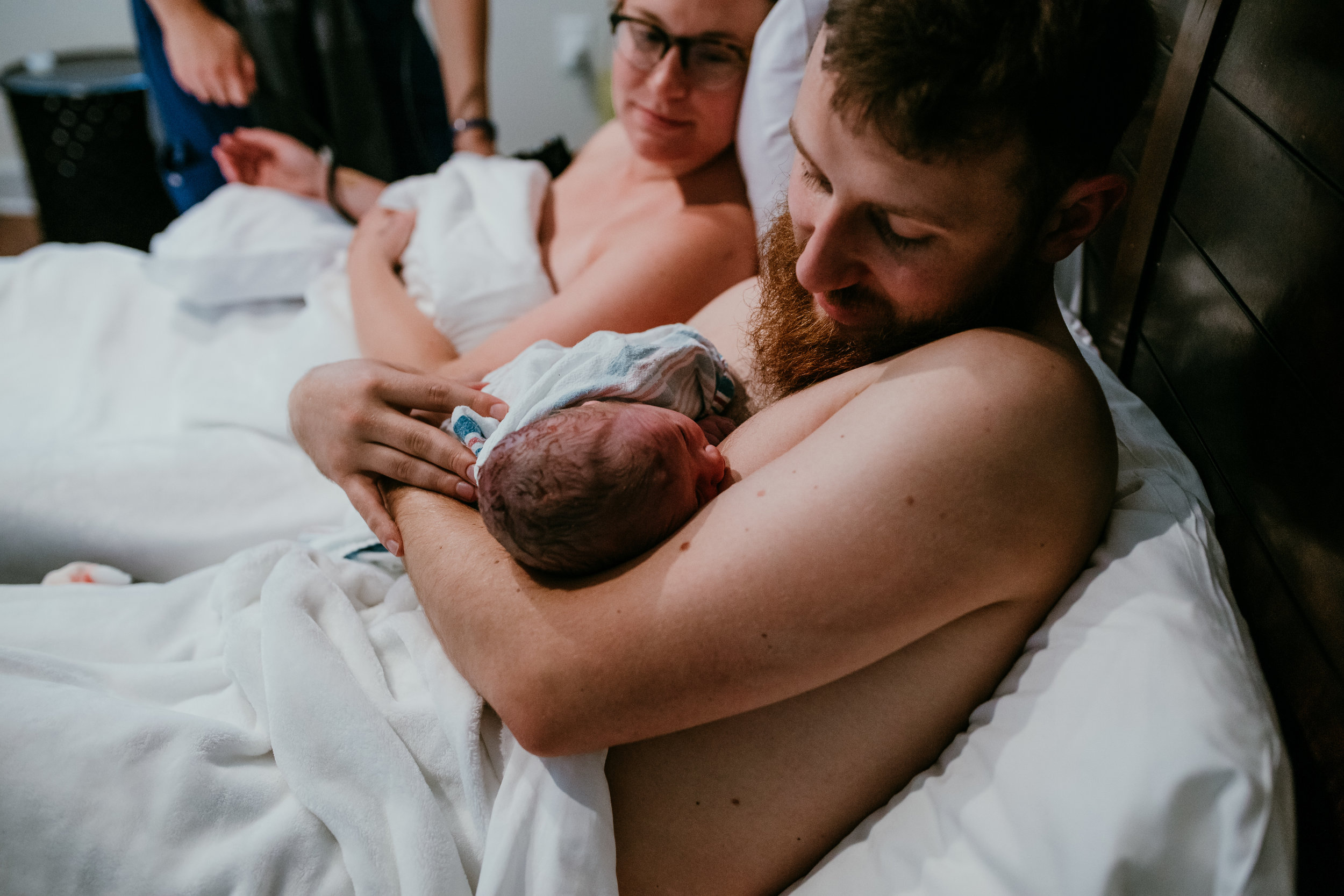James M Birth Story | Hanna Hill Photography | Raleigh Durham Birth Photographer and Videographer | Baby co. birth center birth