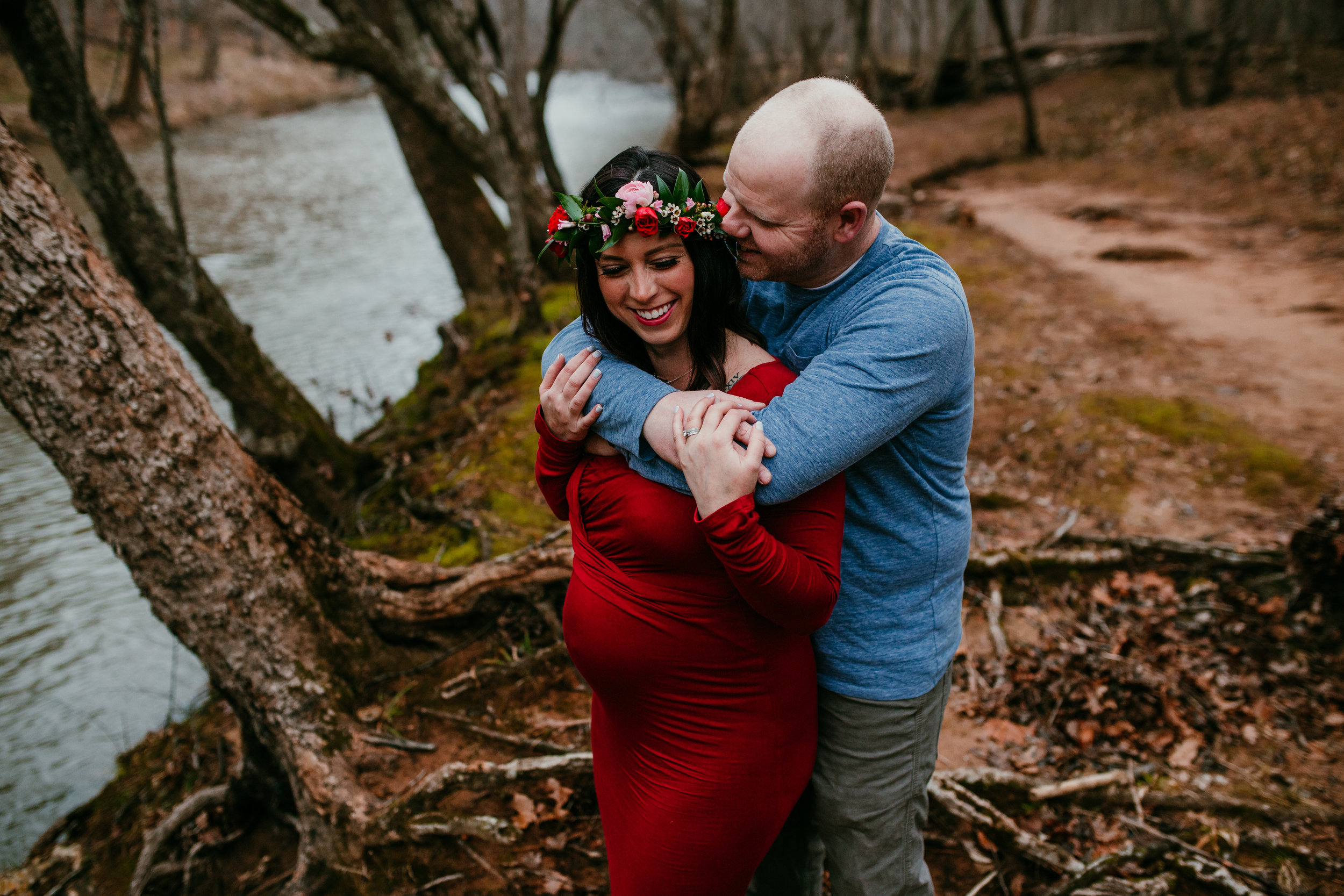 Durham Maternity Photographer | Intimate Motherhood Portraits | Hanna Hill Photography