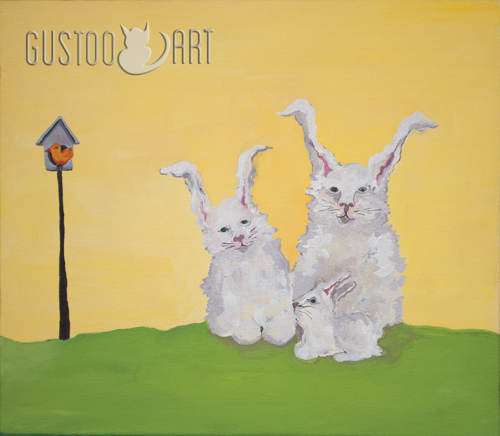 bunnyfamily_yellow_GUSTOOpainting.jpg