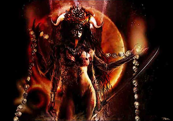 Kali Ma is the deepest way to experience Love...via her annihilation of unhelpful energies inside of us.