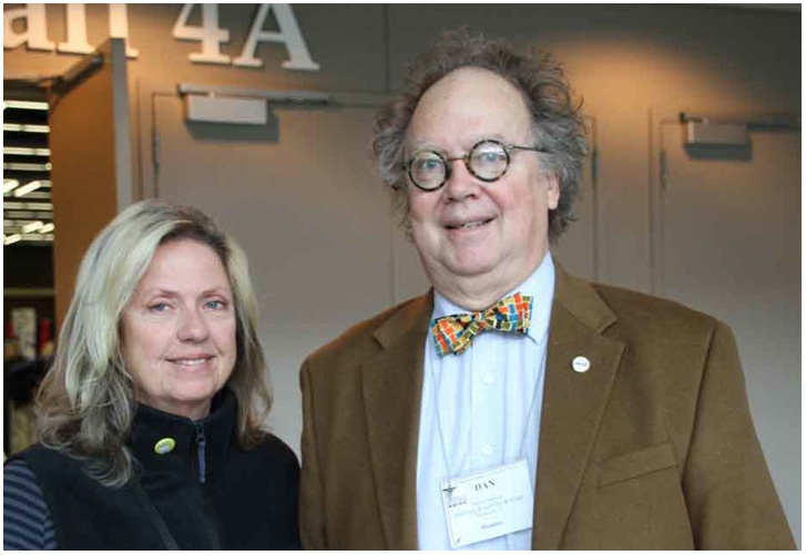 Caroline and Dan Anderson   at NCECA Seattle 2012