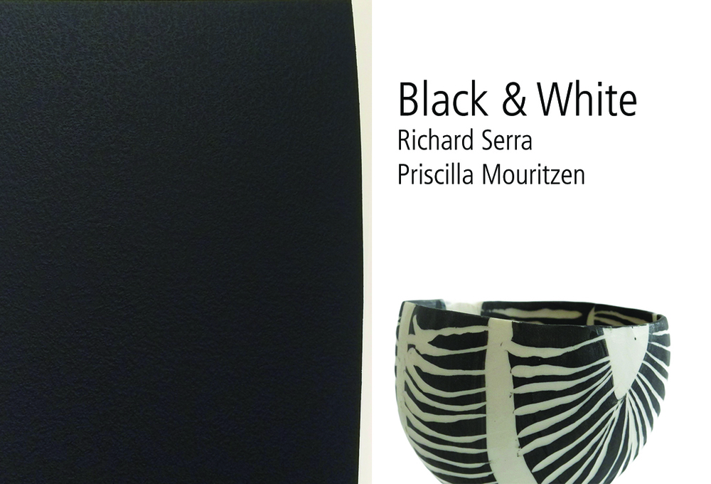 Richard Serra and Priscilla Mouritzen