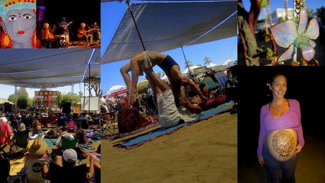 Bhakti yoga festival à Joshua Tree aux Etats Unis Californie. Un festival de yoga, de musique avec conférence de yoga.