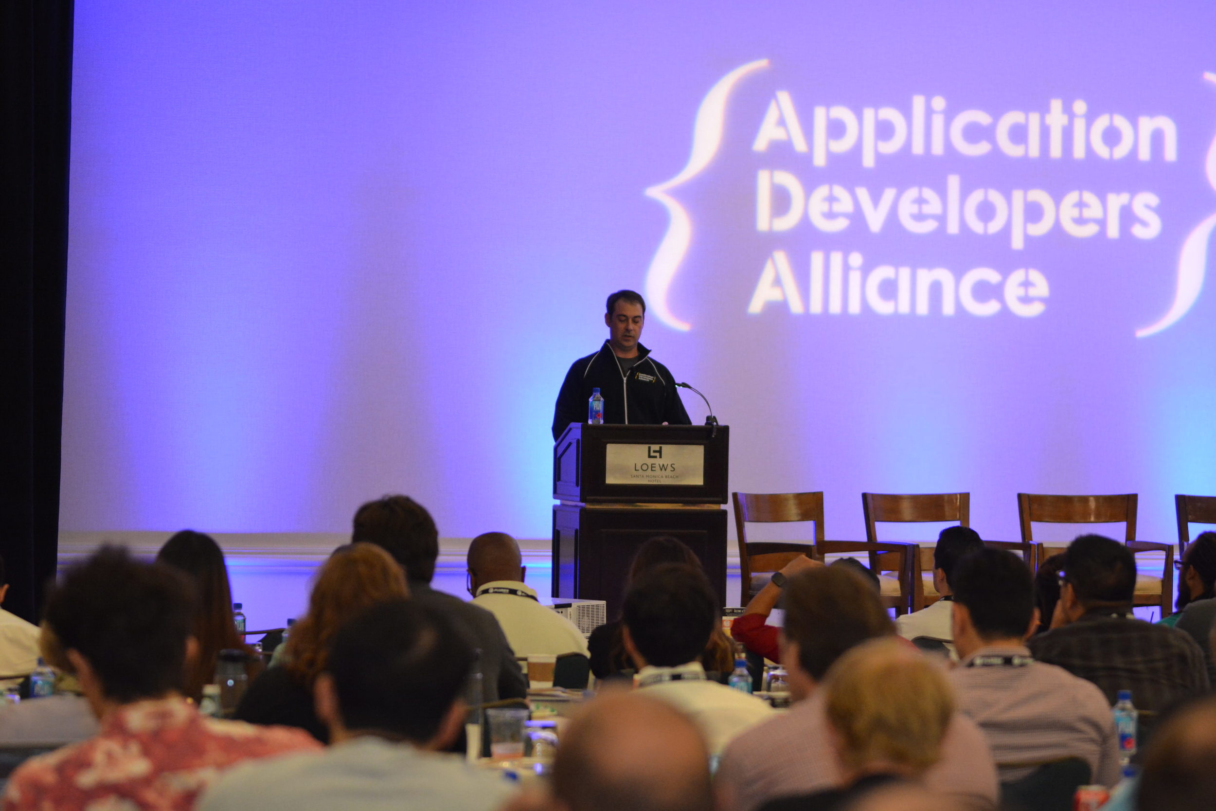 Jake Ward (CEO and President, App Developers Alliance) set the tone for the day with his Opening Remarks