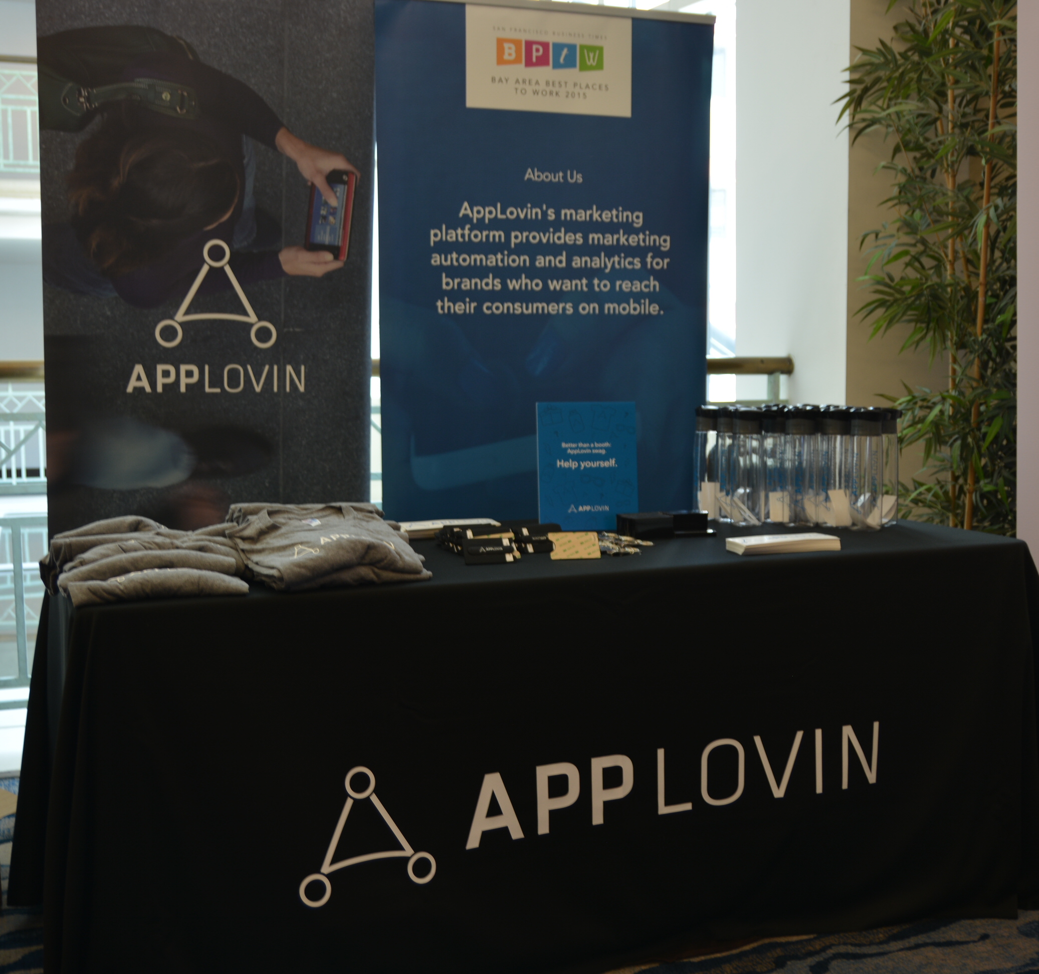 Applovin provides marketing automation and analytics for brands who want to reach their consumers on mobile.