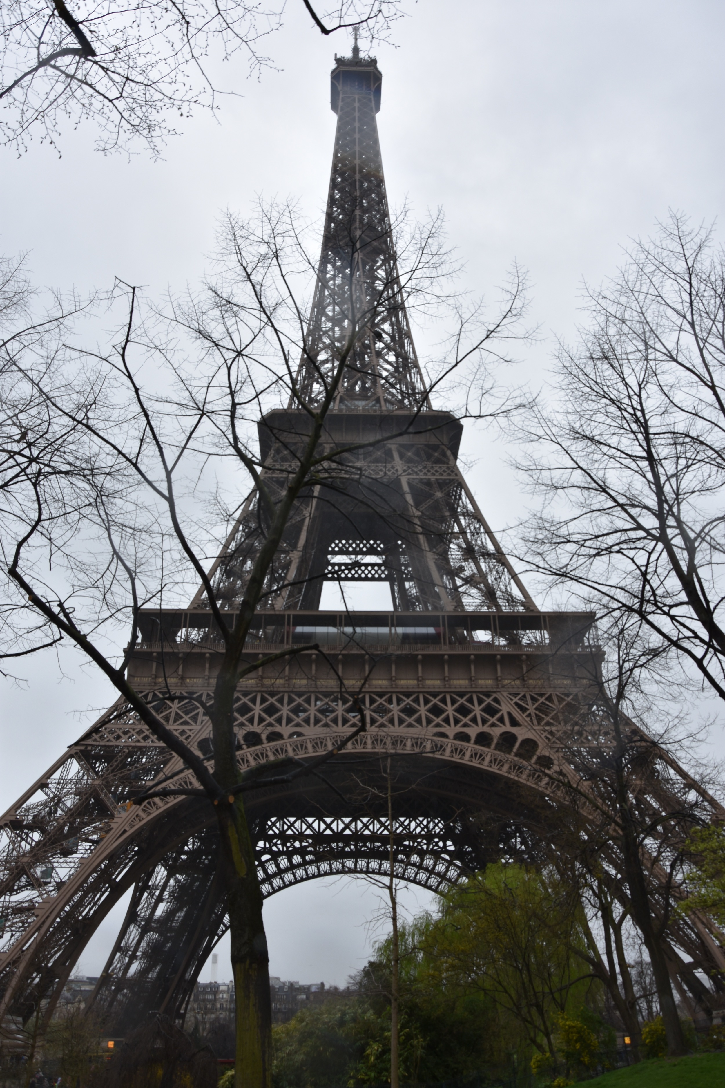 When I took this image of the Eiffel Tower it was pouring with rain and I was drenched after walking in it forfour hours. The power of my camera makes the representation much better than the reality!